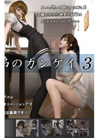 хентай аниме Отношения брата и сестры 3 (Perception Kei 3 of the brother: KYOUDAI NO KANKEI 3) 01.03.21